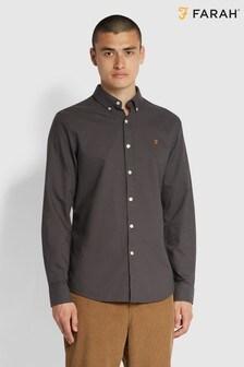 Farah Grey Brewer Shirt