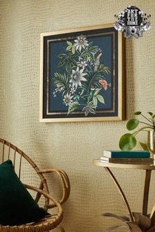 Art For The Home Adilah Tropical Framed Print