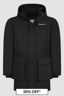 Timberland Boys Black Jacket