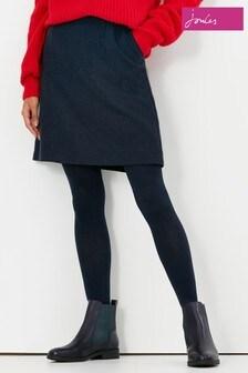 Joules Black Hannah Easy Skirt