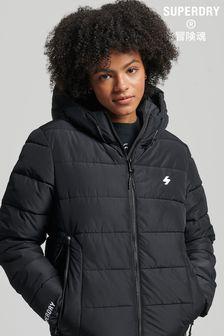 Superdry Hooded Spirit Sports Puffer Coat
