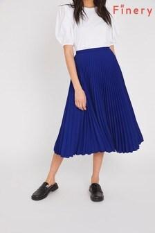 Finery Blue Lottie Skirt