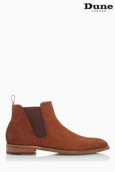Dune London Brown Coordinate Chelsea Boots