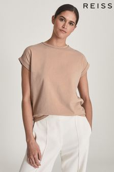 Reiss Tereza Cotton-Jersey T-Shirt