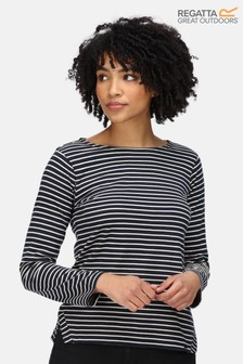 Regatta Fernanda Striped Long Sleeve T-Shirt