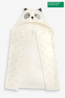 Benetton Character Hooded Towel Blanket