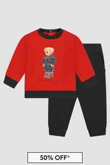 Ralph Lauren Kids Baby Boys Tracksuit