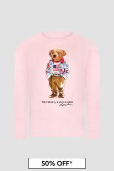 Ralph Lauren Kids Girls T-Shirt