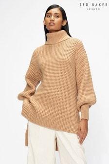 Ted Baker Natural Reiignn Long Sweater