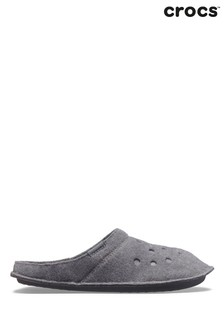 Crocs Grey Classic Slippers
