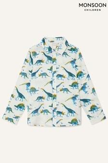 Monsoon Pure Cotton Dino Shirt