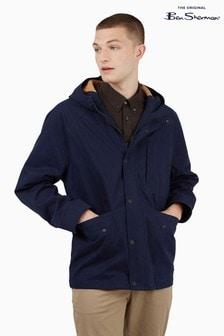 Ben Sherman Marine Hooded Anorak Jacket