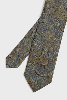 Ted Baker Hunnt Paisley Woven Tie