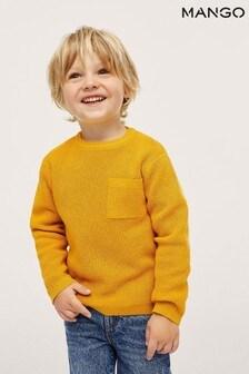 Mango Knit Cotton Sweater