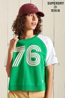 Superdry Collegiate ColourBlock Sweat T-Shirt