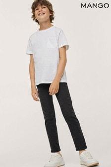 Mango Grey Slim-Fit Jeans
