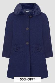Miranda Girls Navy Coat