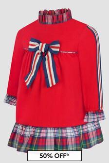 Miranda Baby Girls Red Dress