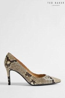 Ted Baker Alesiya Imitation Snake 85Mm Court Shoes