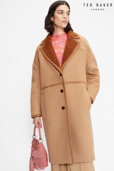 Ted Baker Joanahh Oversized Wool Cocoon Coat
