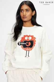 Ted Baker Florayn Ted Graphic Sweater
