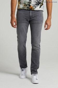 Tommy Hilfiger Mens Grey Denton Denim Jeans