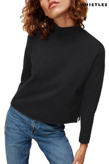 Whistles High Neck Relaxed Top