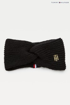 Tommy Hilfiger Black Th Effortless Headband