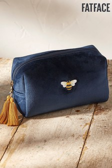FatFace Embroidered Bee Wash Bag