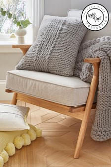 Katie Piper Silver Reset Chunky Cushion