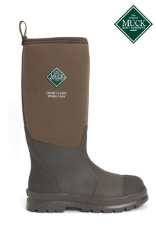 Muck Boots Brown Chore Classic Tall Xpress Cool Wellies