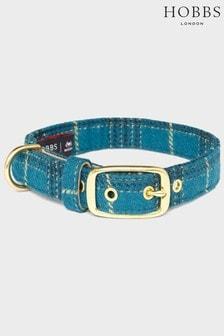 Hobbs Green Tweed Dog Collar