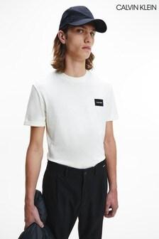 Calvin Klein Neutral Badge T-Shirt