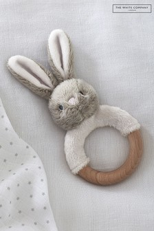 The White Company Bonnie Bunny Rattle