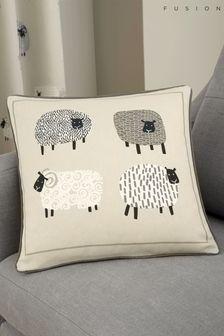 Fusion Natural Dotty Sheep Cushion