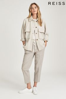 Reiss Syden Relaxed Twin Pocket Overshirt