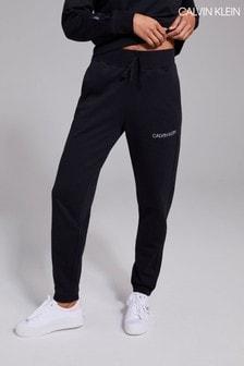 Calvin Klein Womens Black Knit Pants