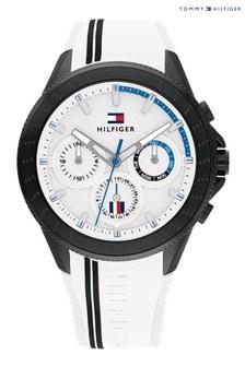 Tommy Hilfiger White Aiden Watch
