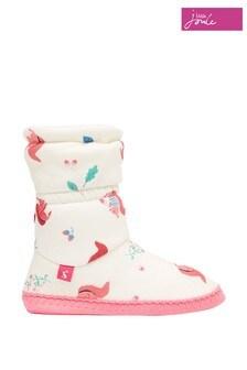Joules White Slipper Socks