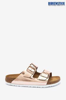 Birkenstock Arizona Metallic Copper Sandals
