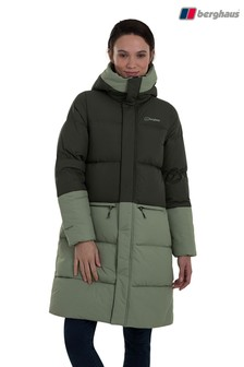 Berghaus Green Combust Reflect Long Down Insulated Jacket