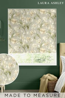 Laura Ashley Sage Gosford Made To Measure Roman Blind