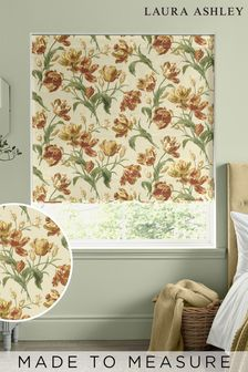 Laura Ashley Gold Gosford Made To Measure Roman Blind