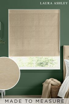Laura Ashley Gold Whinfell Made To Measure Roman Blind