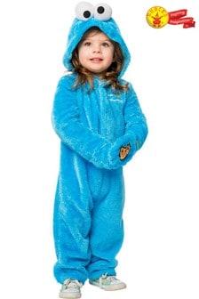 Rubies Blue Cookie Monster Toddler Fancy Dress Costume Onesie