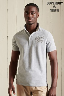 Superdry Organic Cotton Superstate Short Sleeve Polo Shirt