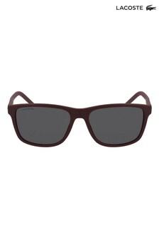 Lacoste Red Matte Sunglasses