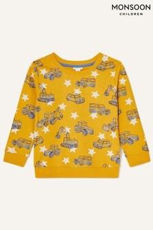Monsoon Yellow Digger Sweatshirt