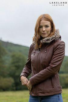 Lakeland Leather Applethwaite Hooded Leather Jacket