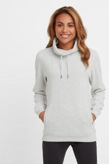 Tog 24 Grey Abigail Funnel Neck Sweatshirt